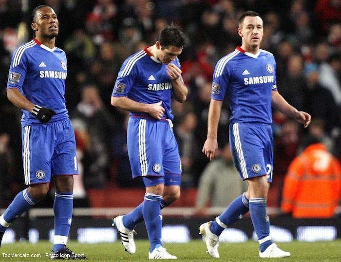Drogba et Lampard