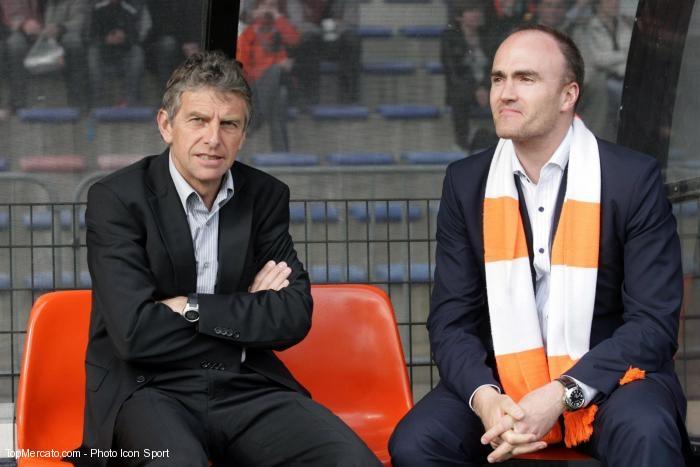 Loïc Féry et Christian Gourcuff