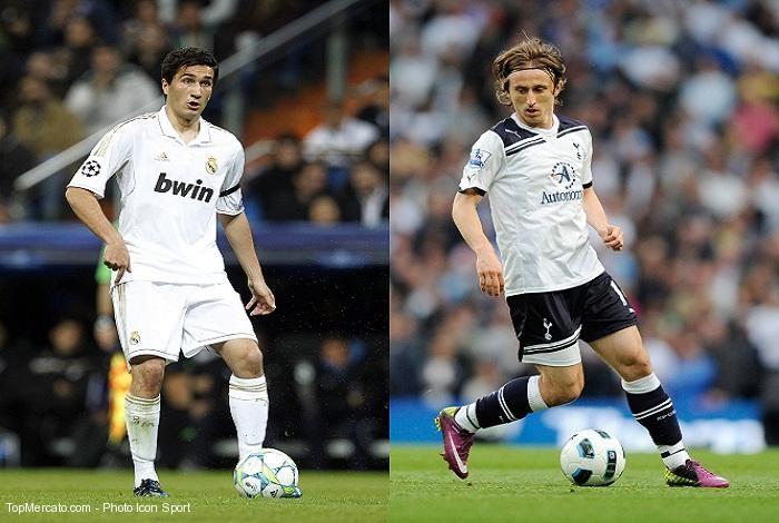 Nuri Sahin et Luka Modric