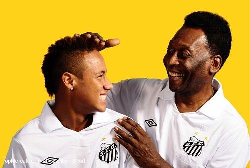 Pelé et Neymar