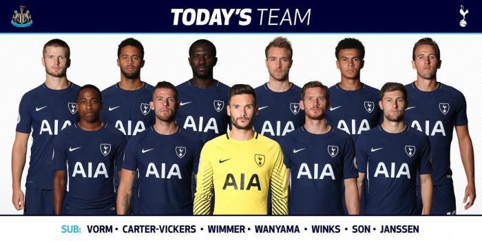 Onze de Tottenham