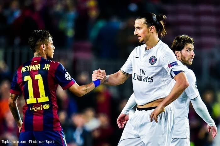 Ibrahimovic a marqué Al-Khelaïfi