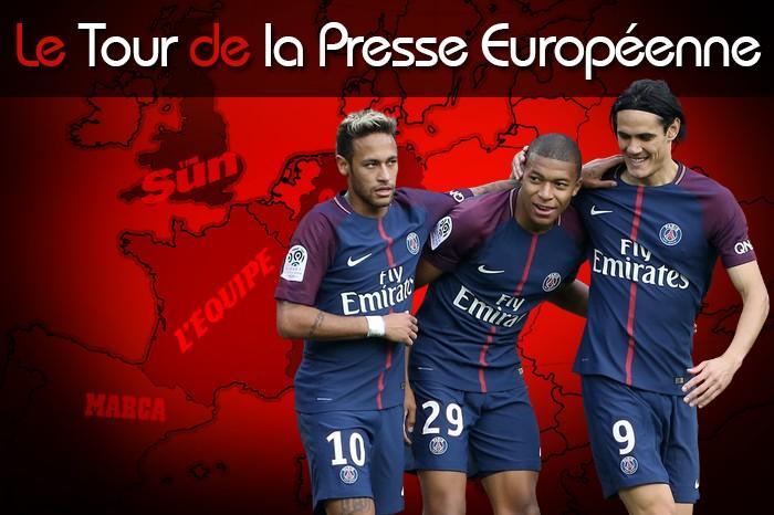 Mbappé, Neymar, Cavani, attaque du PSG