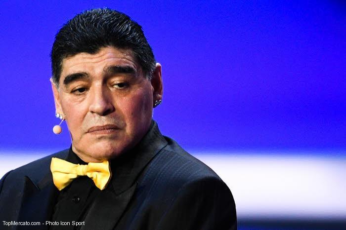 Maradona évoque son transfert avorté à l'OM