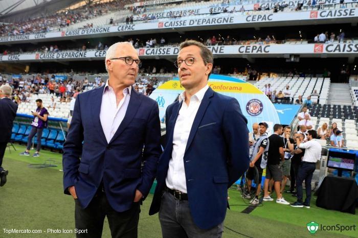 Frank McCourt et Jacques-Henri Eyraud