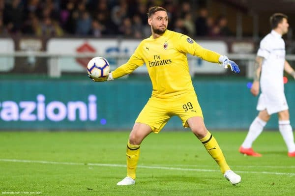 Gianluigi Donnarumma, Milan AC