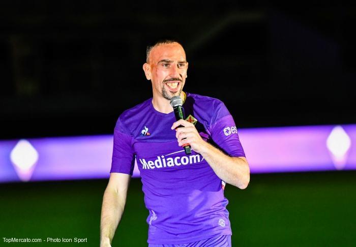 Le patron de la Fiorentina encense Ribéry