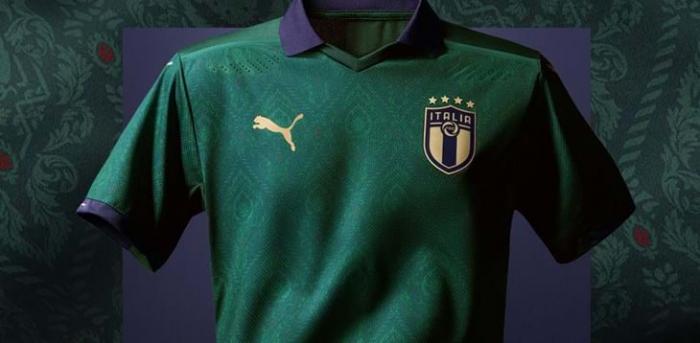 Italie : Puma dévoile un maillot vert pour la Nazionale