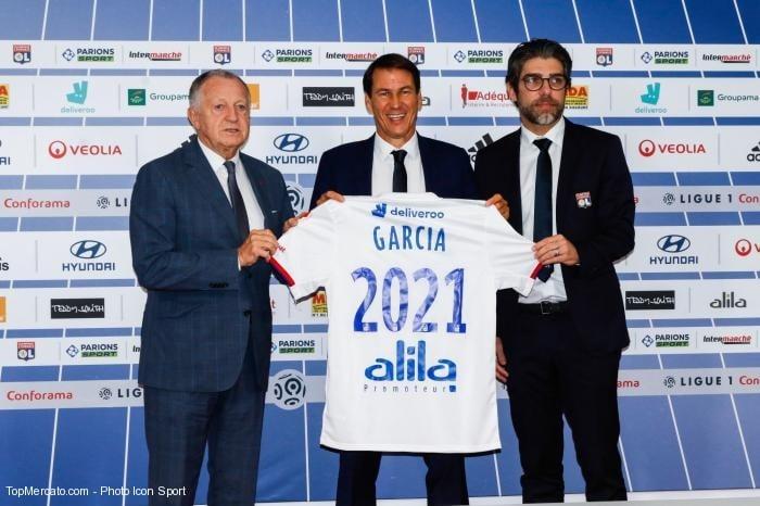 Rudi Garcia-Jean-Michel Aulas