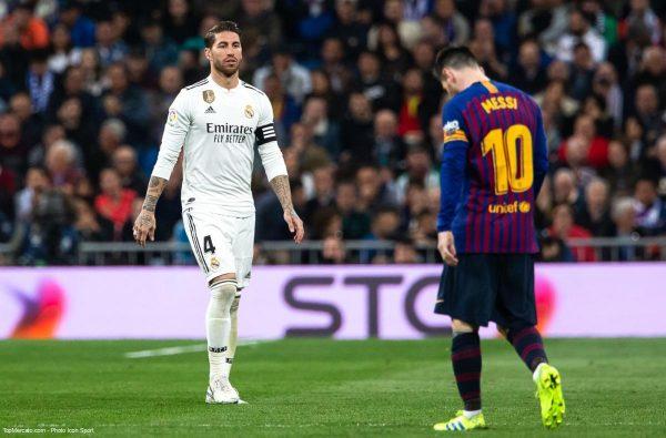 Clasico : Sergio Ramos et Lionel Messi