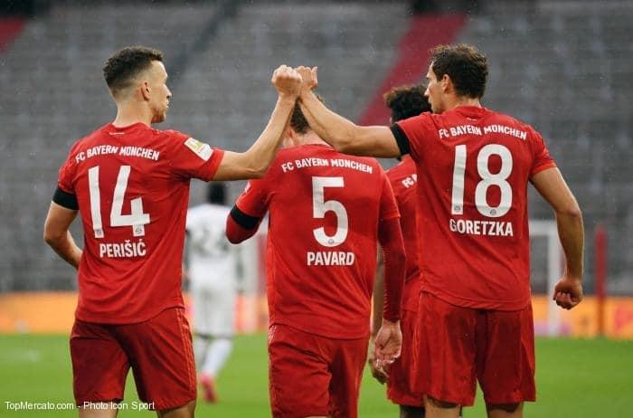 Bayern-Eintracht Francfort