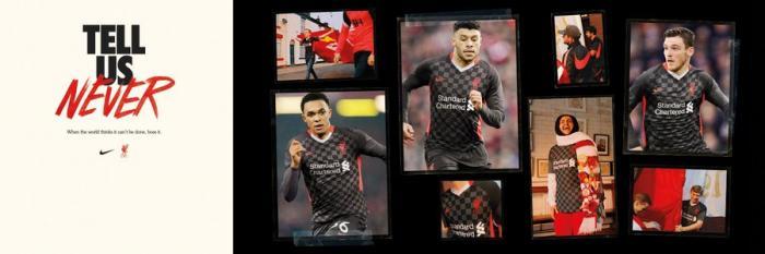 Troisième maillot de Liverpool