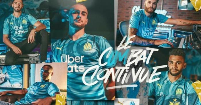 Troisième maillot de l'Olympique de Marseille