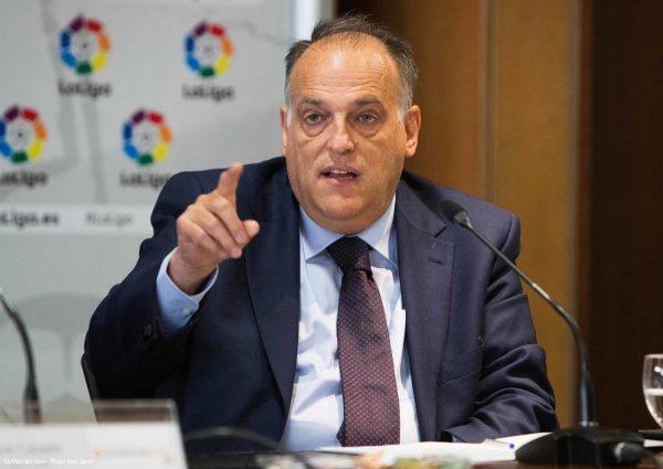 Javier Tebas, Liga