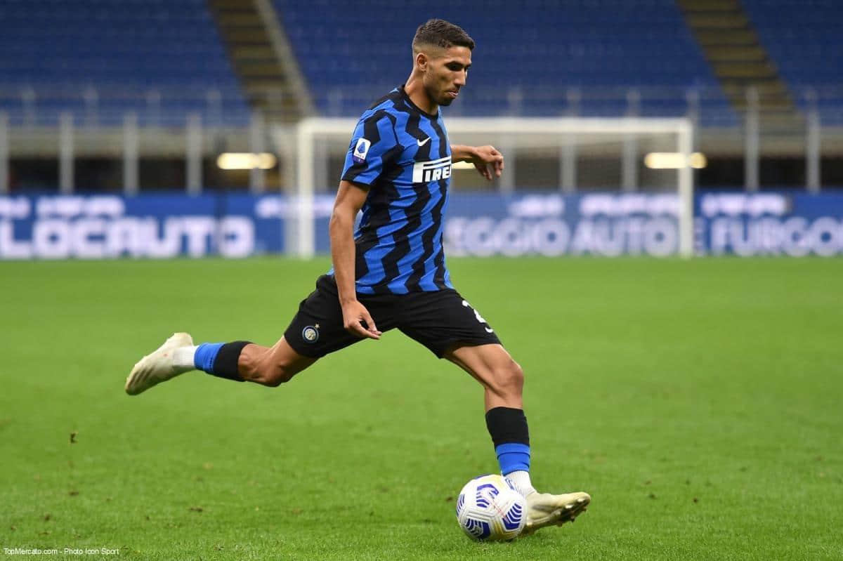 Achraf Hakimi, Inter