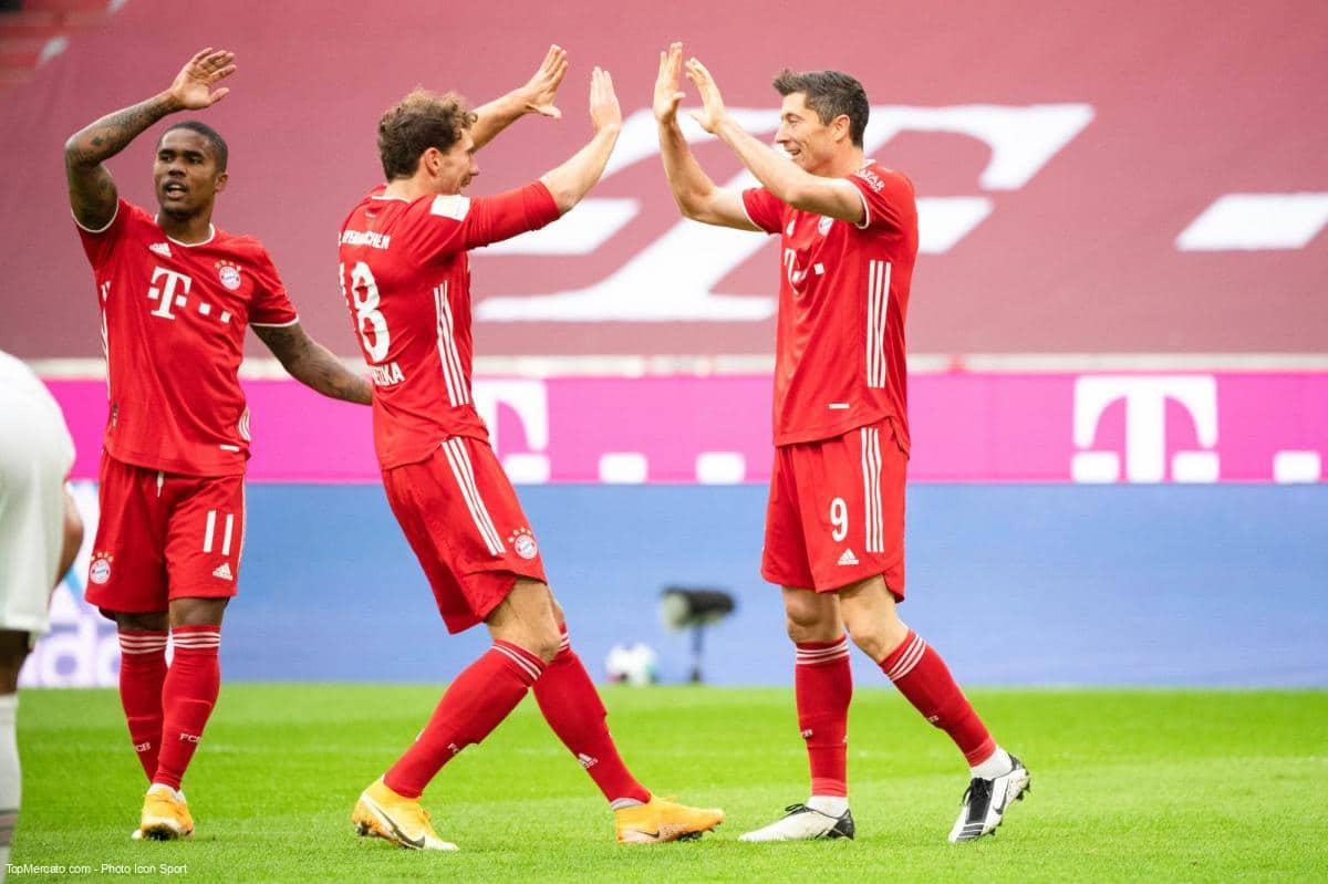 Bayern Munich-Eintracht Francfort