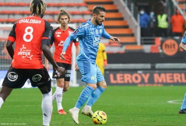 Dario Benedetto, Lorient - OM