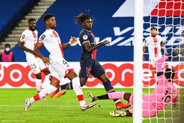 PSG-Dijon : Moise Kean