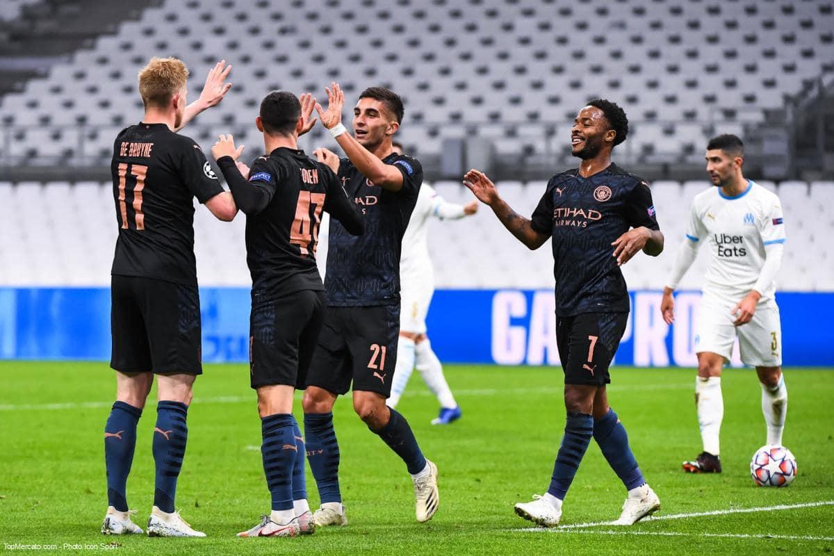 Olympique de Marseille-Manchester City