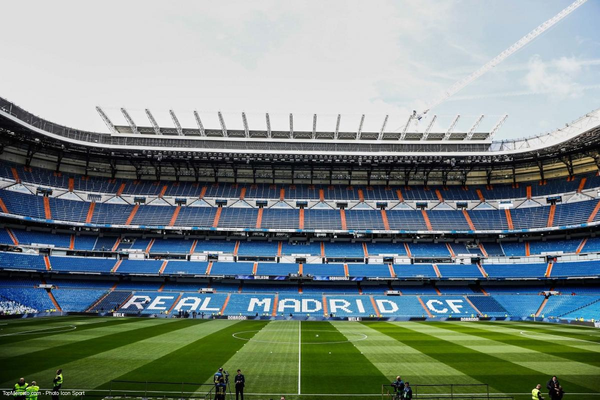 Santiago Bernabeu, Real Madrid