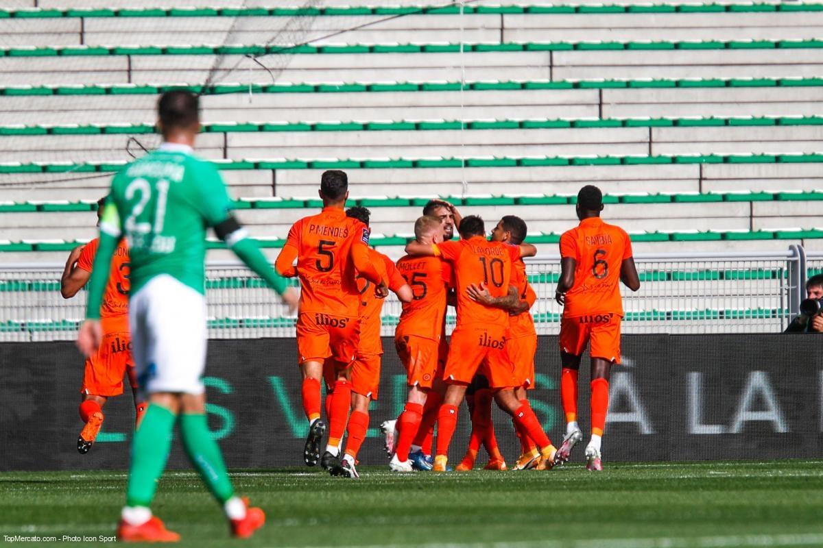 Match ASSE - MHSC / Montpellier - AS Saint-Etienne