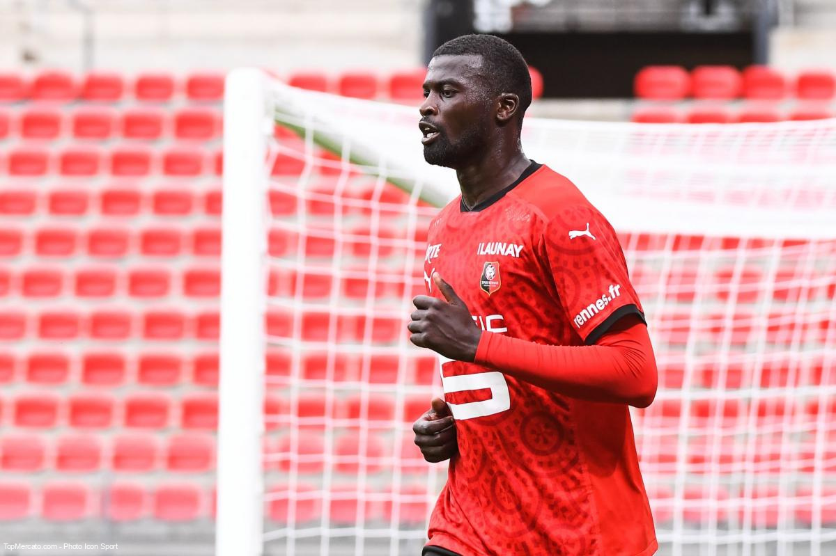 Mbaye Niang, Rennes