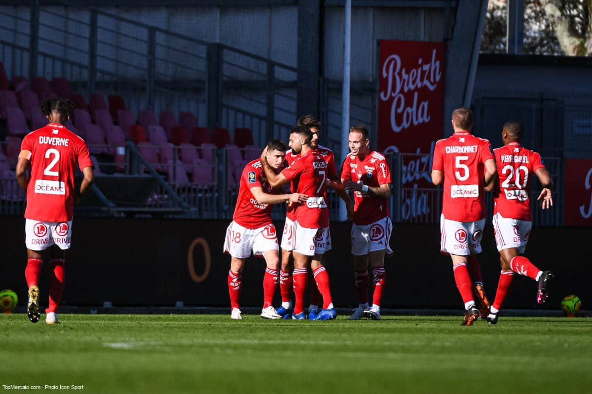 Match Brest-Lyon en direct