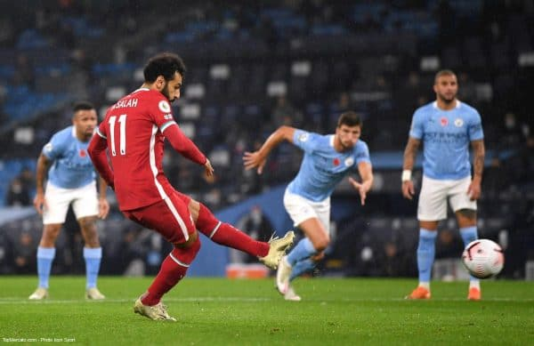 Mohamed Salah, match Liverpool - Manchester City