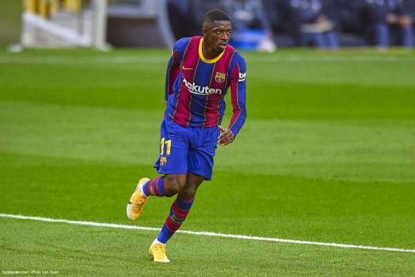 Ousmane Dembélé, Barça