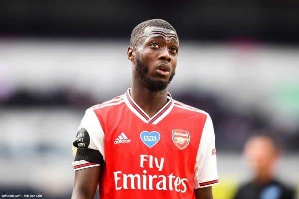 Nicolas Pépé, Arsenal