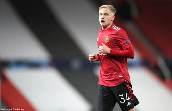 Donny van de Beek, MU Manchester United