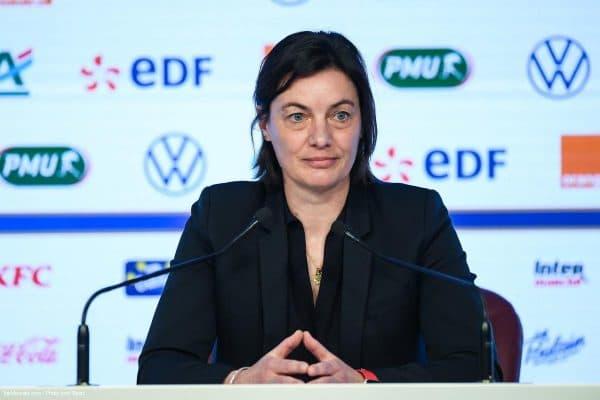 Corinne Diacre, Equipe de France féminine