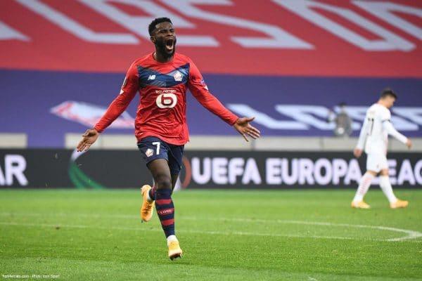 Jonathan Bamba, Lille LOSC - Milan AC