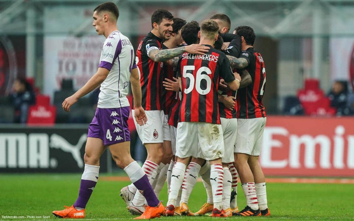 Match Milan AC Fiorentina