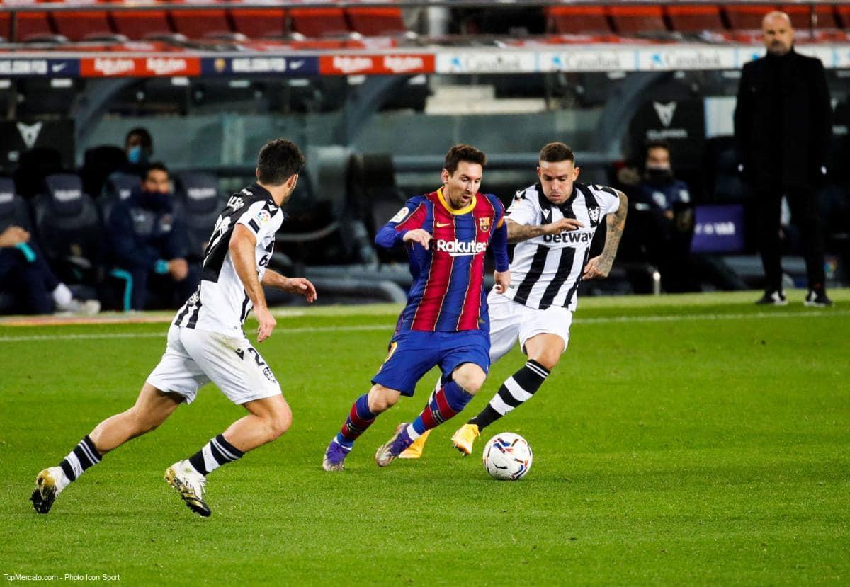 Lionel Messi, FC barcelone - Levante
