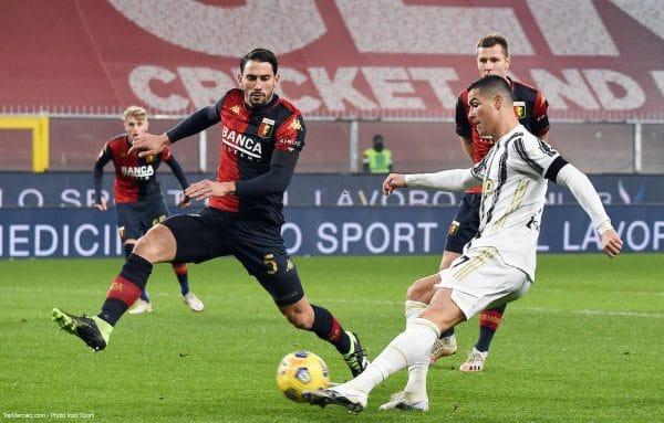 Crisiano Ronaldo, Genoa-Juventus Turin