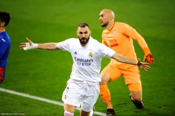 Karim Benzema, Eibar - Real Madrid