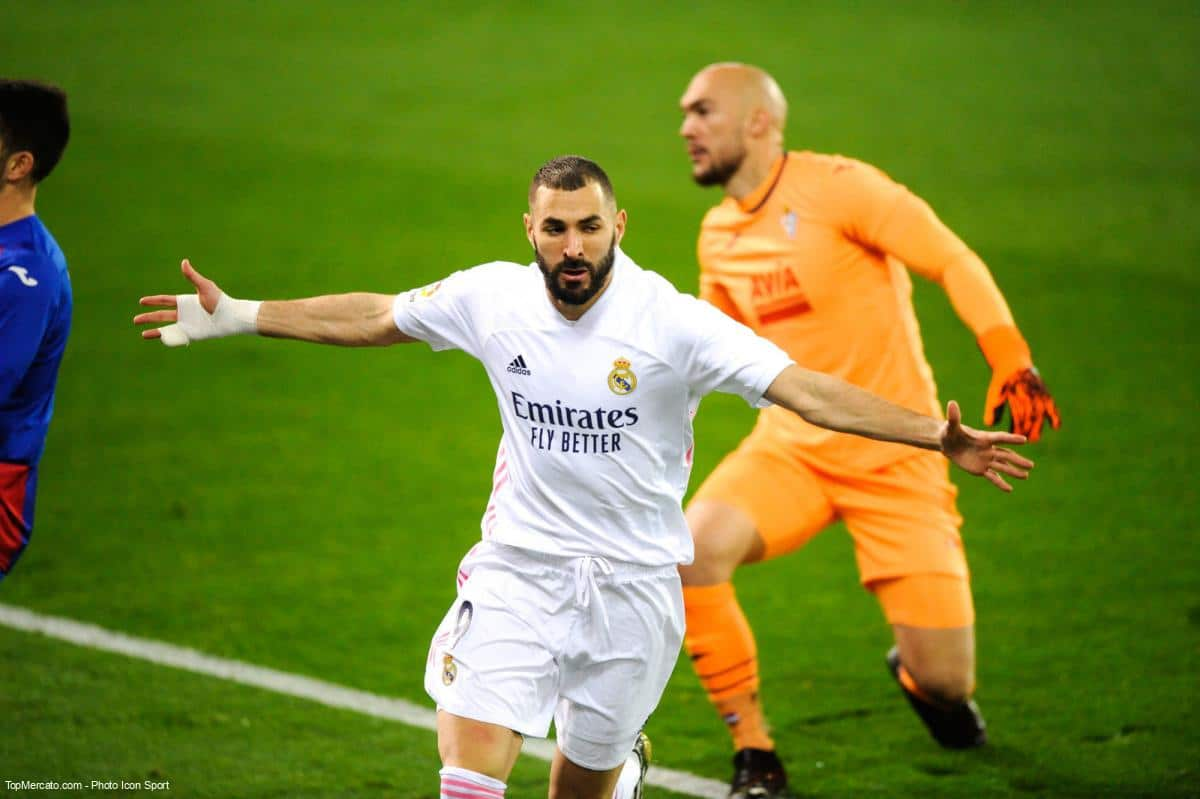Karim Bebnzema, match du Real Madrid