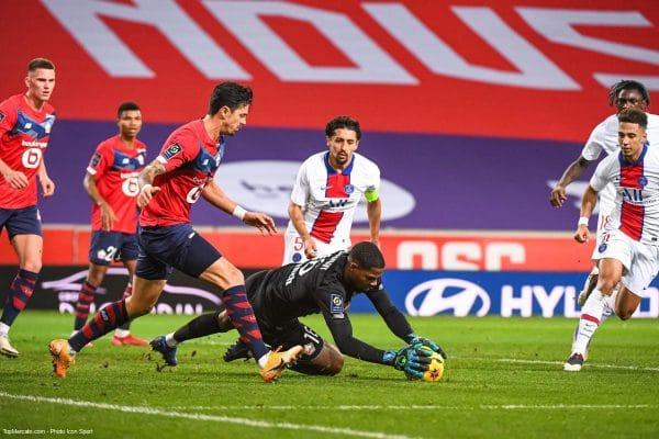 Mike Maignan, Marquinhos, Match Lille - PSG
