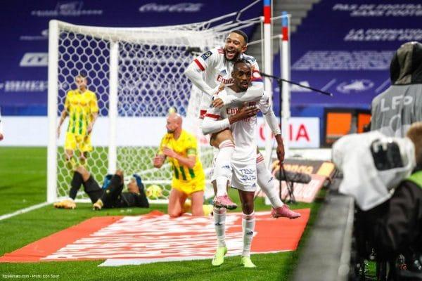 Lyon - Nantes, Depay et Kadewere