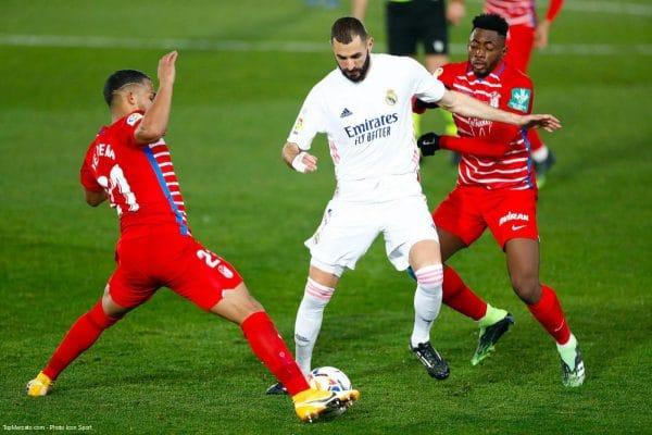 Karim Benzema, Match real Madrid - Grenade