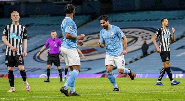 İlkay Gündoğan, match Manchester City - Newcastle