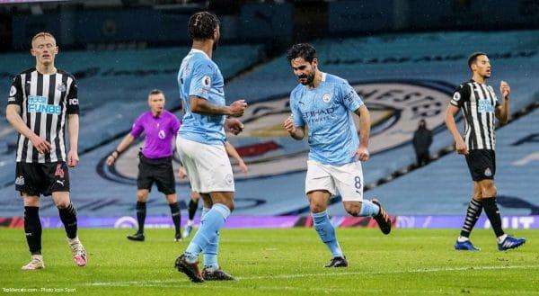 İlkay Gündoğan, match Manchester City - Newcastle