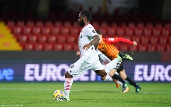 Franck Kessié, Benevento - Milan AC