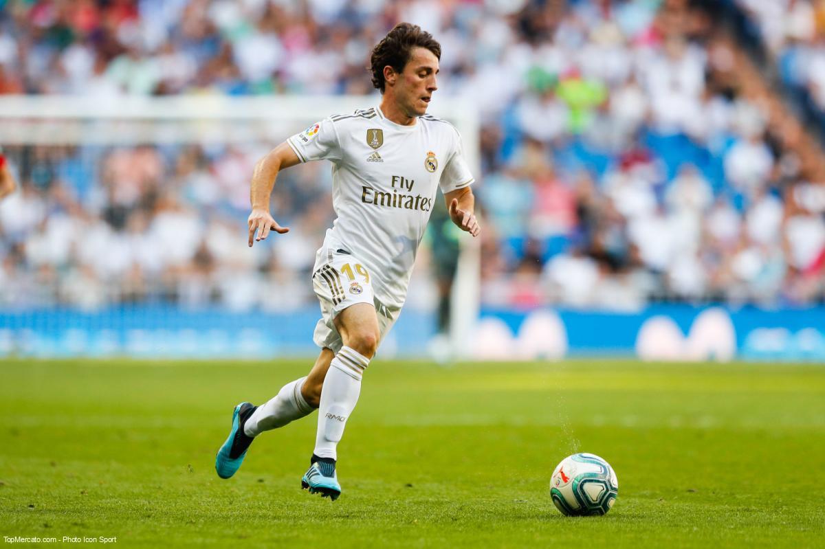 Alvaro Odriozola, Real Madrid