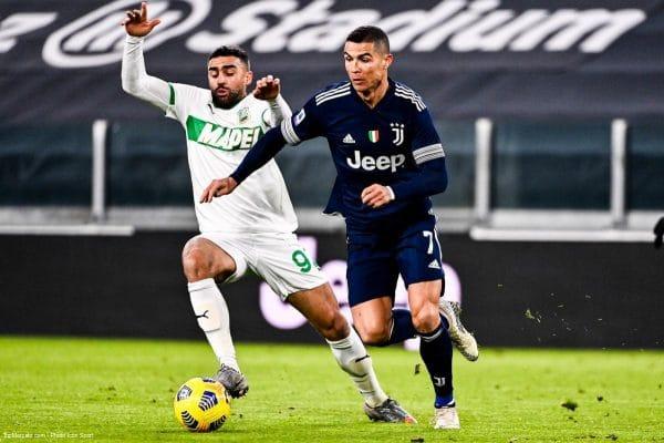 Cristiano Ronaldo, match Juventus Turin - Sassuolo
