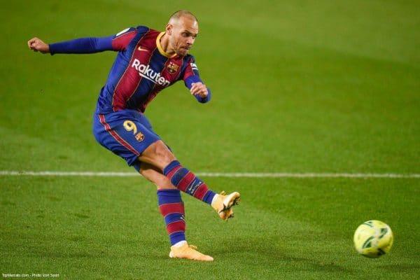 Martin Braithwaite, FC Barcelone