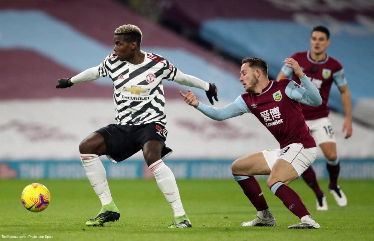 Paul Pogba, Burnley - Manchester United