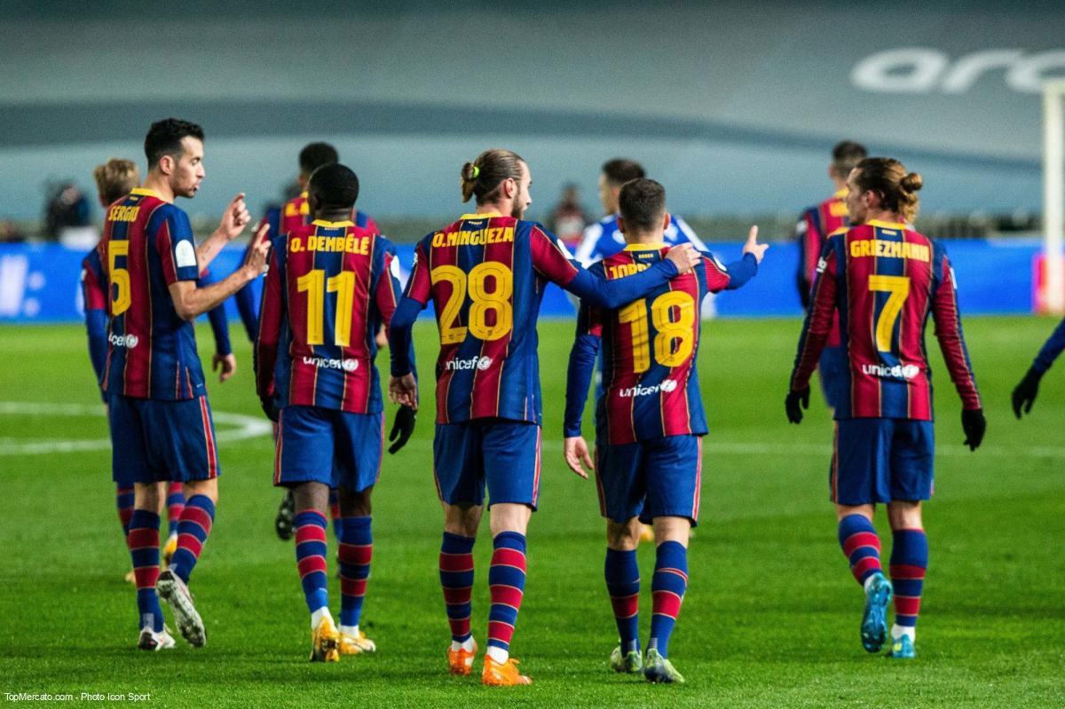 Equipe du FC Barcelone