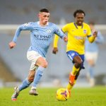 Phil Foden, match Manchester City - Brighton and Hove Albion